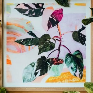 Pink-Philodendron-painting-Georgie-Daphne-styled-2